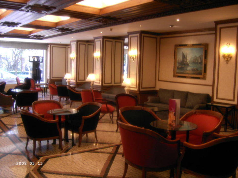 Lobby Hotel Sana Classic Rex