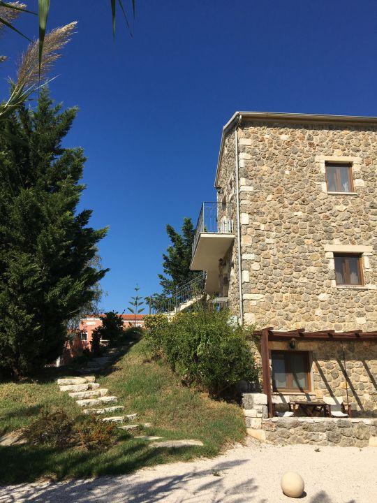 Außenansicht Almyros Villas Resort