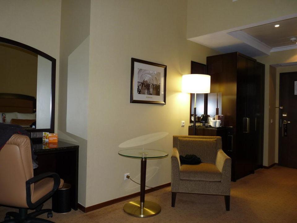 Doppelzimmer Hilton Moscow Leningradskaya