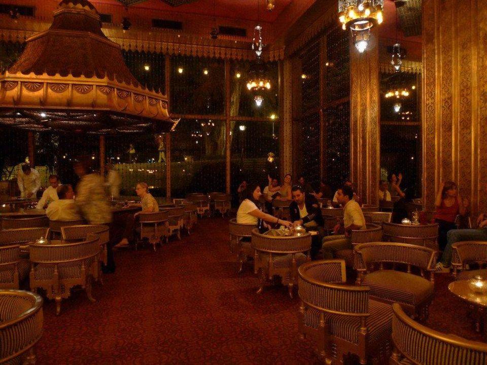 Kolonialstil Bar Marriott Mena House Cairo Giza Giseh
