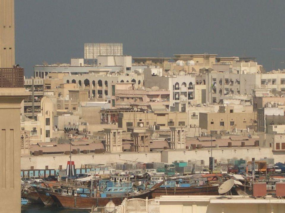 Aussicht Richtung Dubai Creek Arabian Courtyard Hotel & Spa