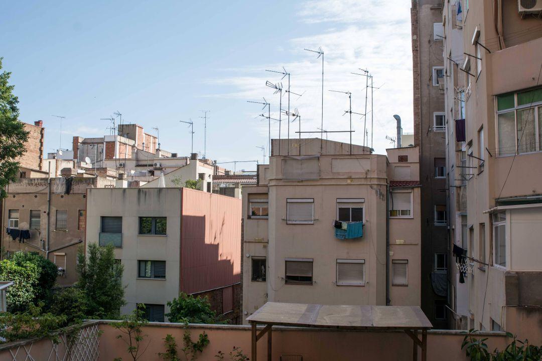 Blick aus dem Zimmer Hotel Amrey Sant Pau
