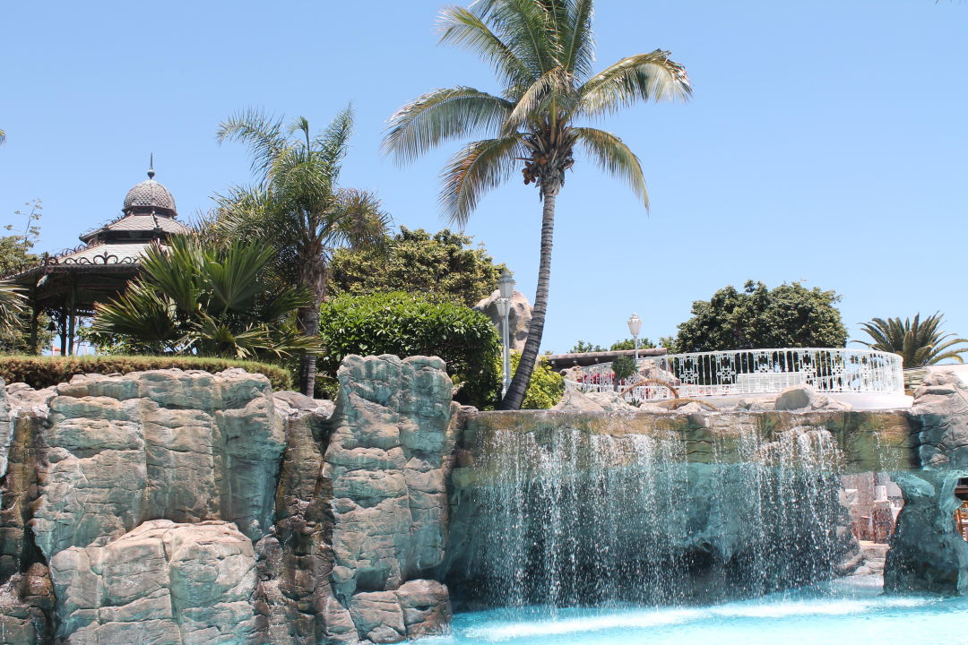 Wasserfall am s wasserpool adri n hoteles jardines de for Adrian jardines de nivaria