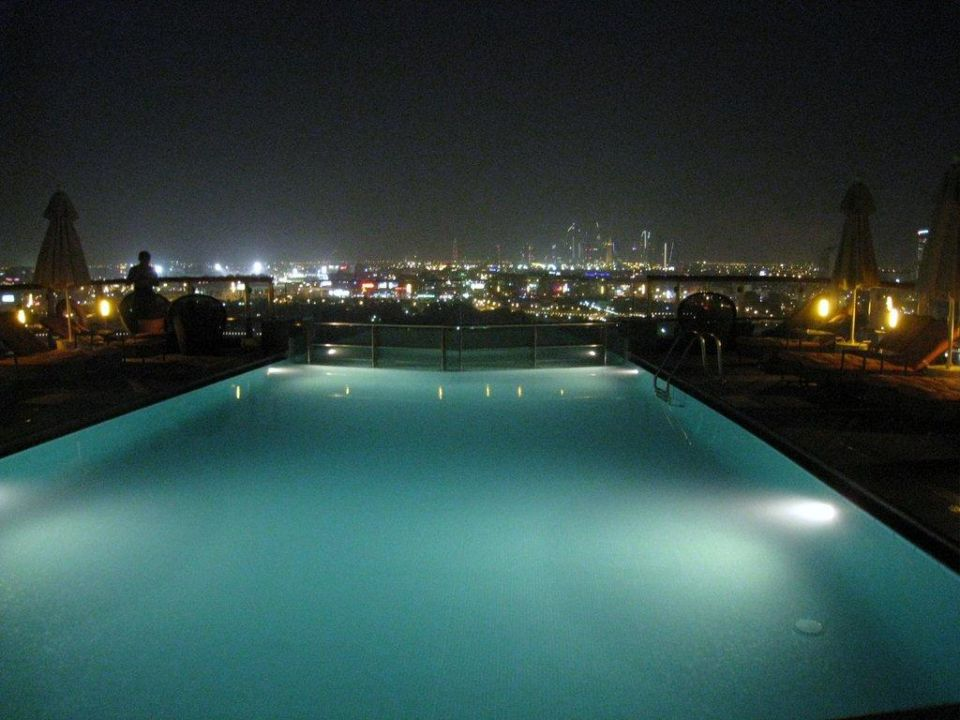 """Pool Auf Dem Dach"" Hilton Dubai Creek (Dubai"