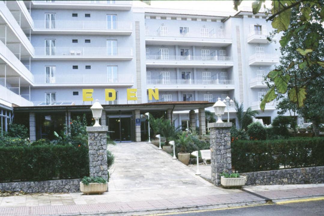 Eingang Hotel Eden, Puerto de Soller Hotel Eden
