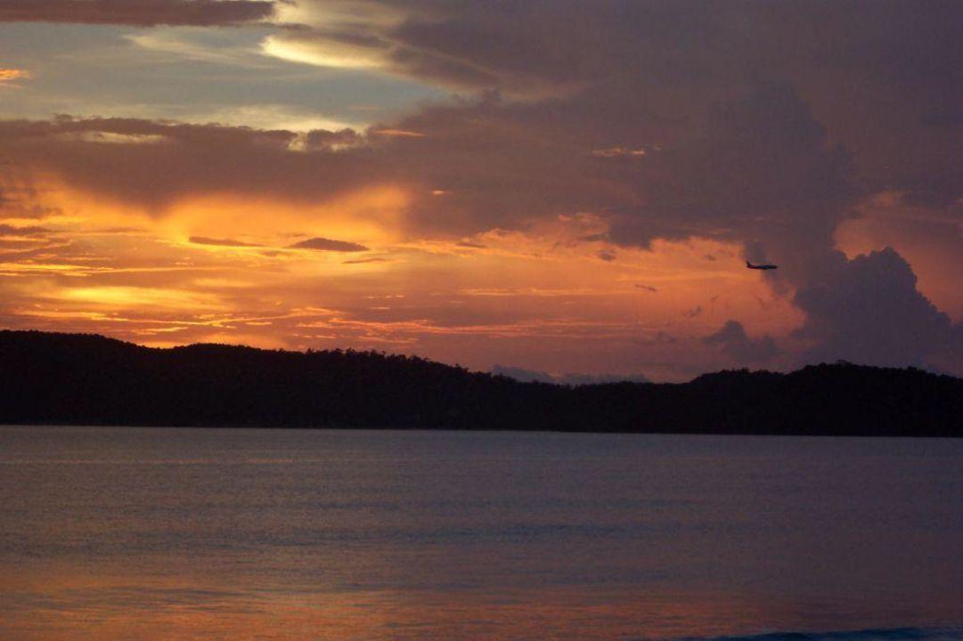 Sonnenuntergang Hotel Frangipani Langkawi Resort