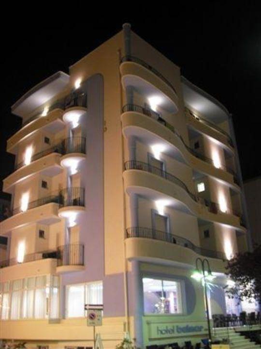 Hotel Belmar di sera Hotel Belmar