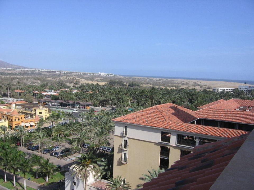 Blick vom Turm nach Playa de Ingles Lopesan Costa Meloneras Resort, Spa & Casino