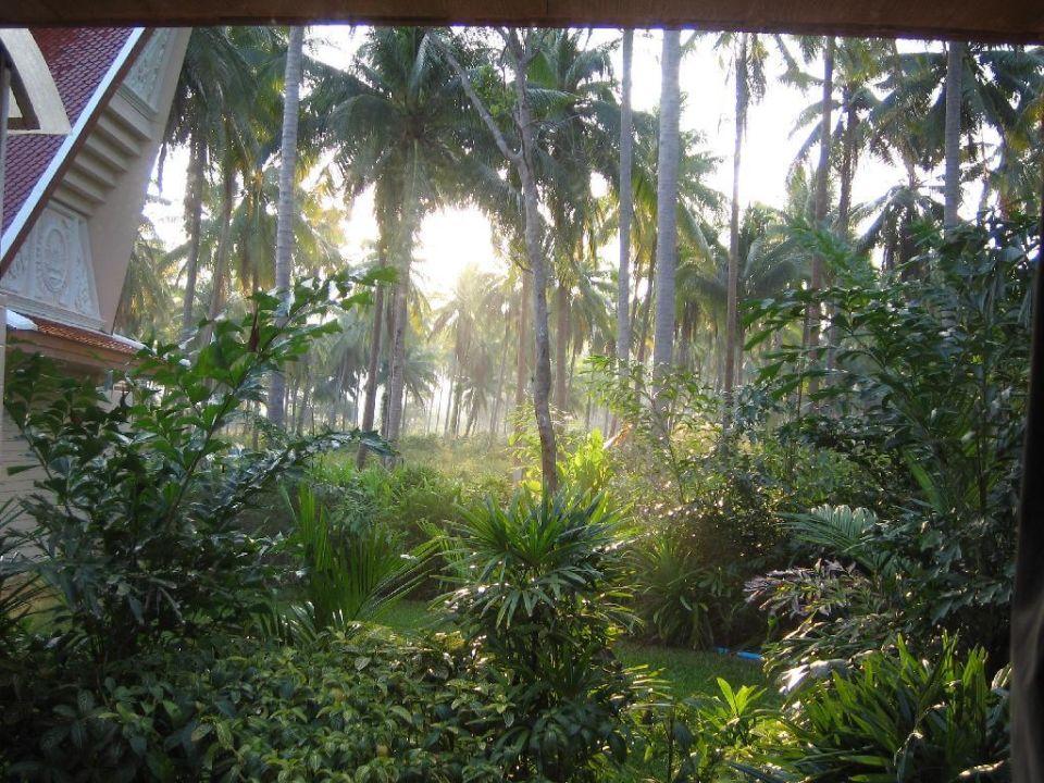 Sonnenaufgang vom Bett aus! Santhiya Tree Koh Chang Resort