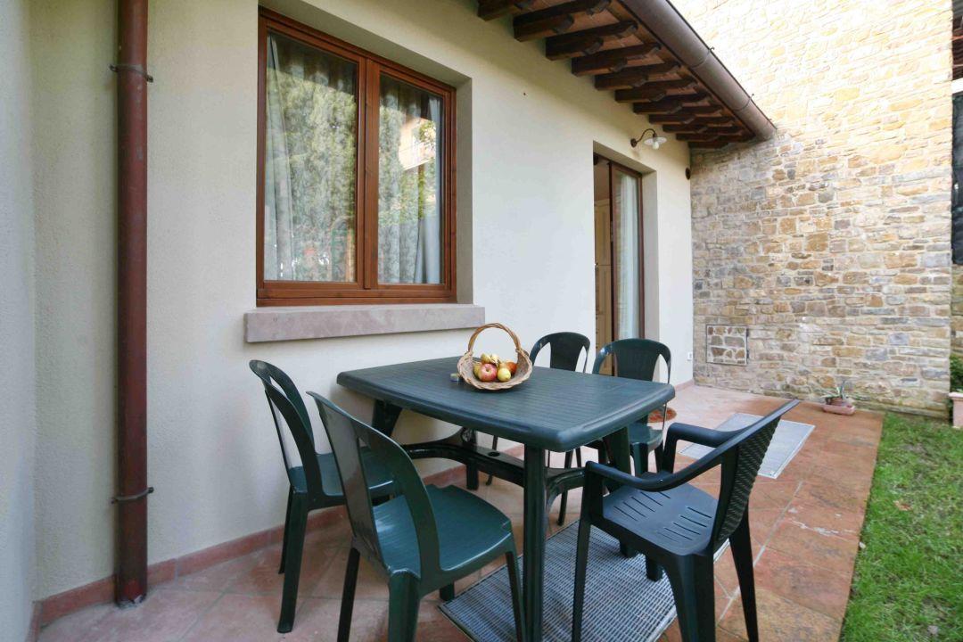 Dante apartment - outdoor area La Compagnia del Chianti