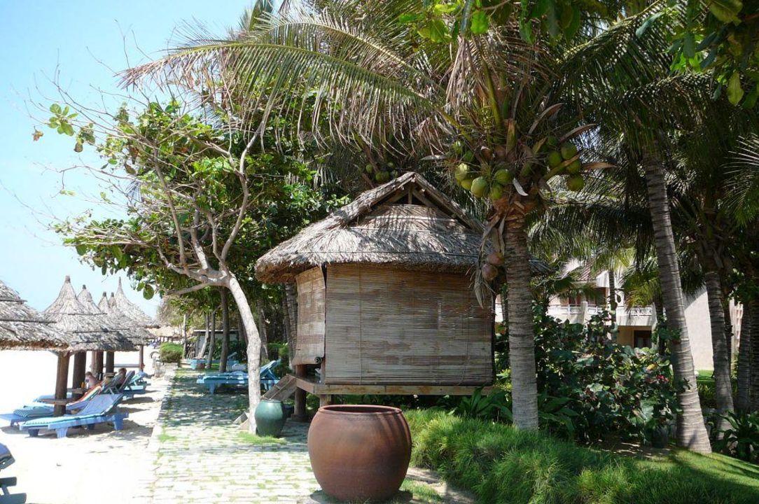 Massagehütte am Strand Saigon Mui Ne Resort