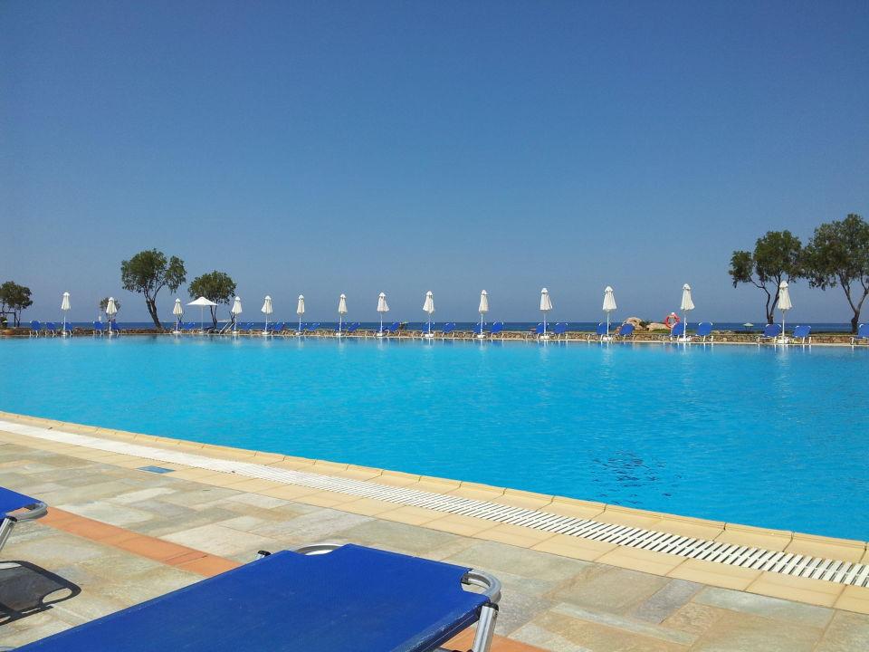 Großer Pool großer pool kalimera kriti hotel resort sisi