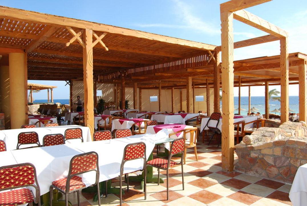 Restaurant Außenbereich Wadi Lahmy Azur Resort