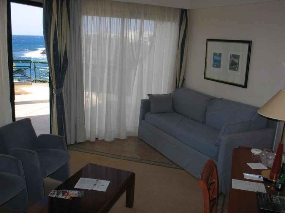 Wohnzimmer Junior Suite Tui Sensimar Natura Palace Adults Only