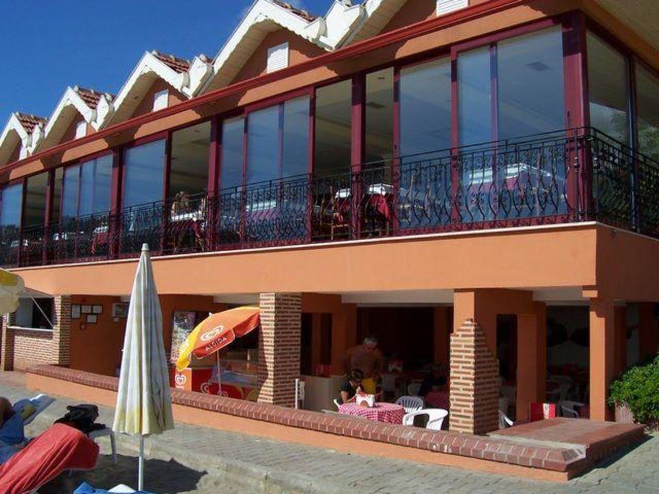 Restaurant und Snackbar, Beachseite Hotel Panorama