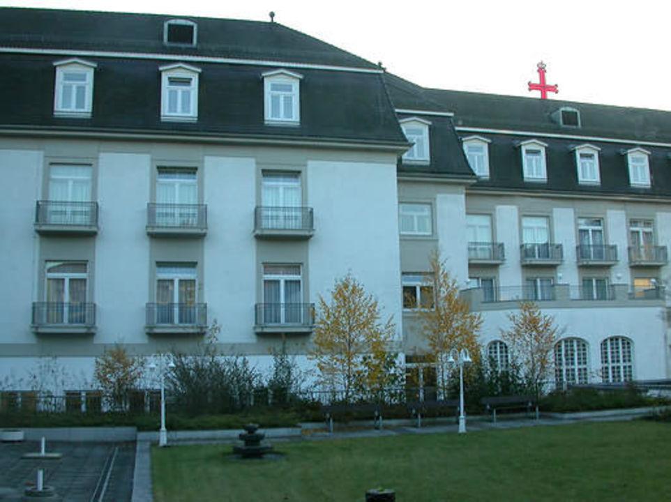 Hotel Steigenberger Bad Pyrmont, Innenhof Steigenberger Hotel & Spa Bad Pyrmont
