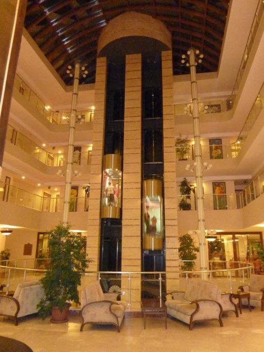 Hotel Aufzug - gigantisch, toll! Adalya ArtSide