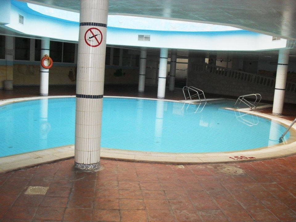 Piscine intérieure Hotel Houda Golf & Beach Club