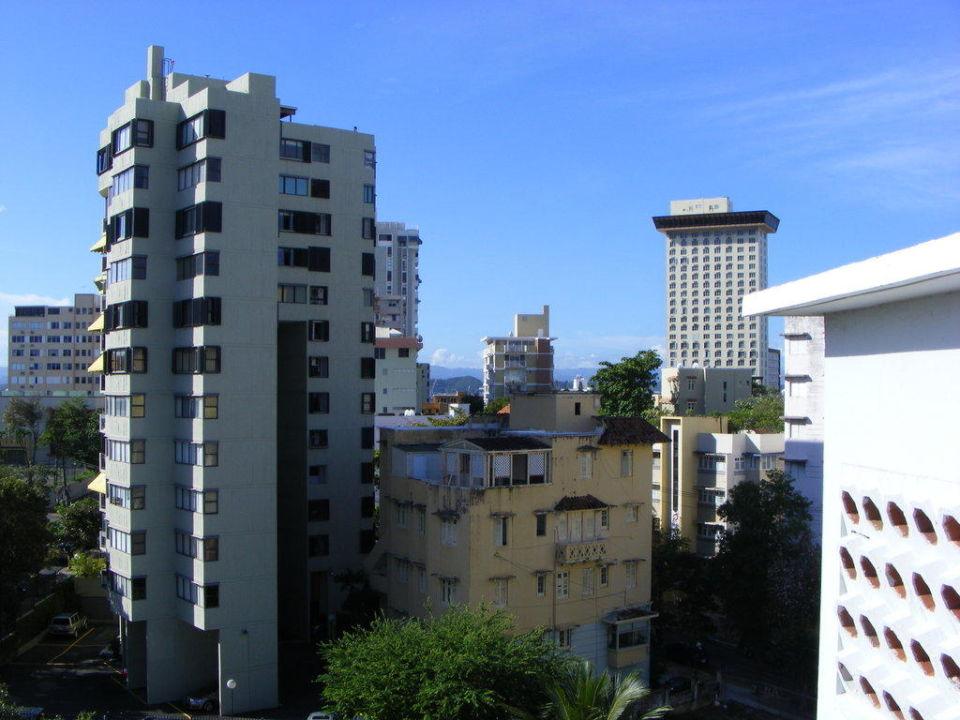 Ausblick von der Dachterrasse Hotel Miramar