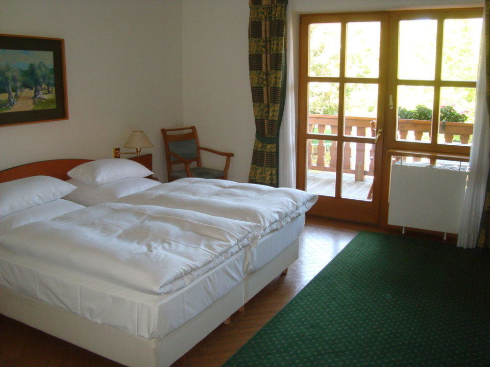 Zimmerbereich Hotel Bachmair Weissach