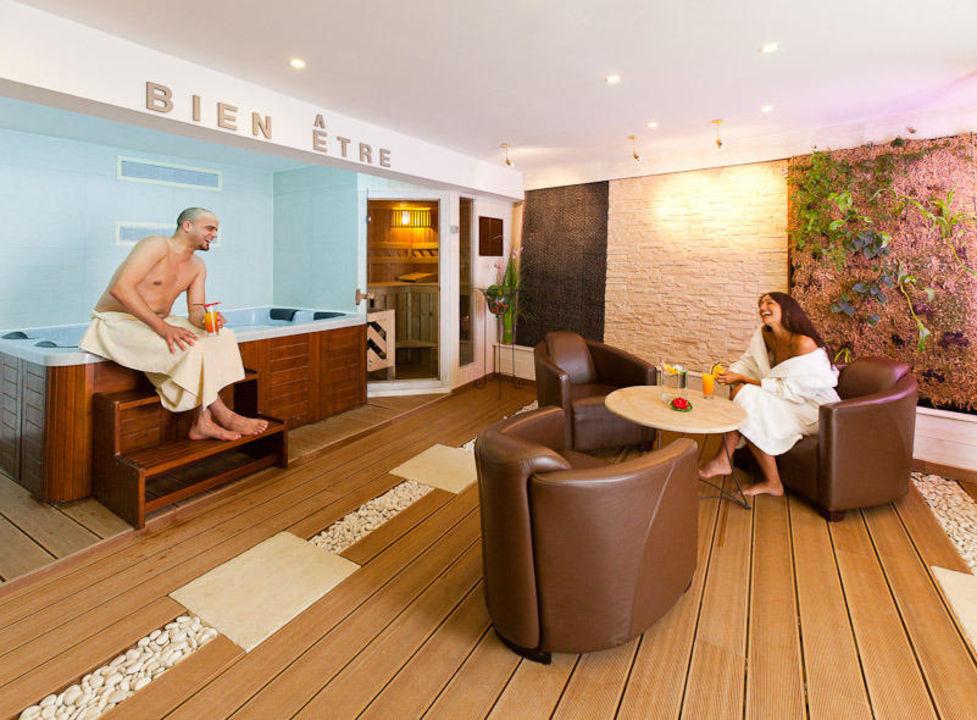 spa avec sauna jacuzzi hammam fitness hotel. Black Bedroom Furniture Sets. Home Design Ideas