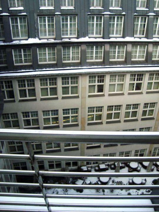 Innenhof Park Hyatt Hamburg