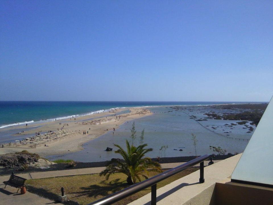 Strand bei Flut IBEROSTAR Playa Gaviotas