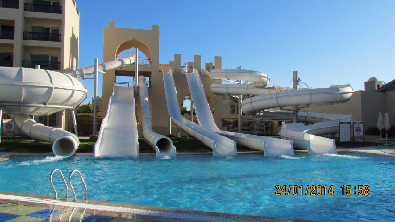 Rutschen Steigenberger Aqua Magic Hurghada Holidaycheck