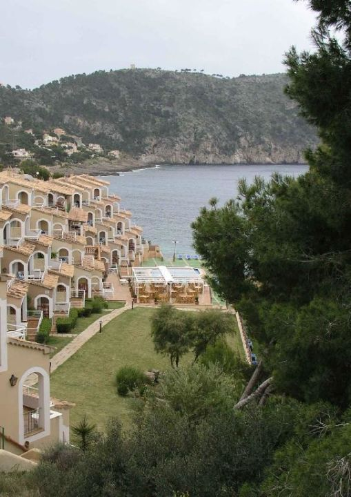 Ansicht des Aparthotel Bahia Camp de Mar in Camp de Mar Cabau Bahia Camp de Mar Suites