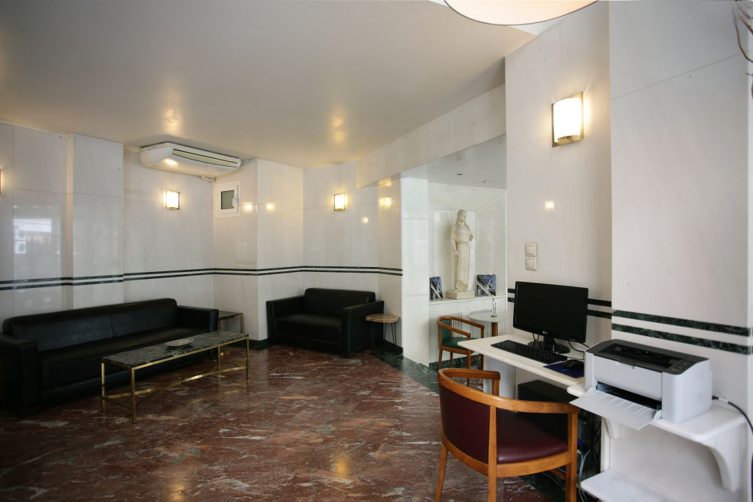 Lobby Hotel Evripides