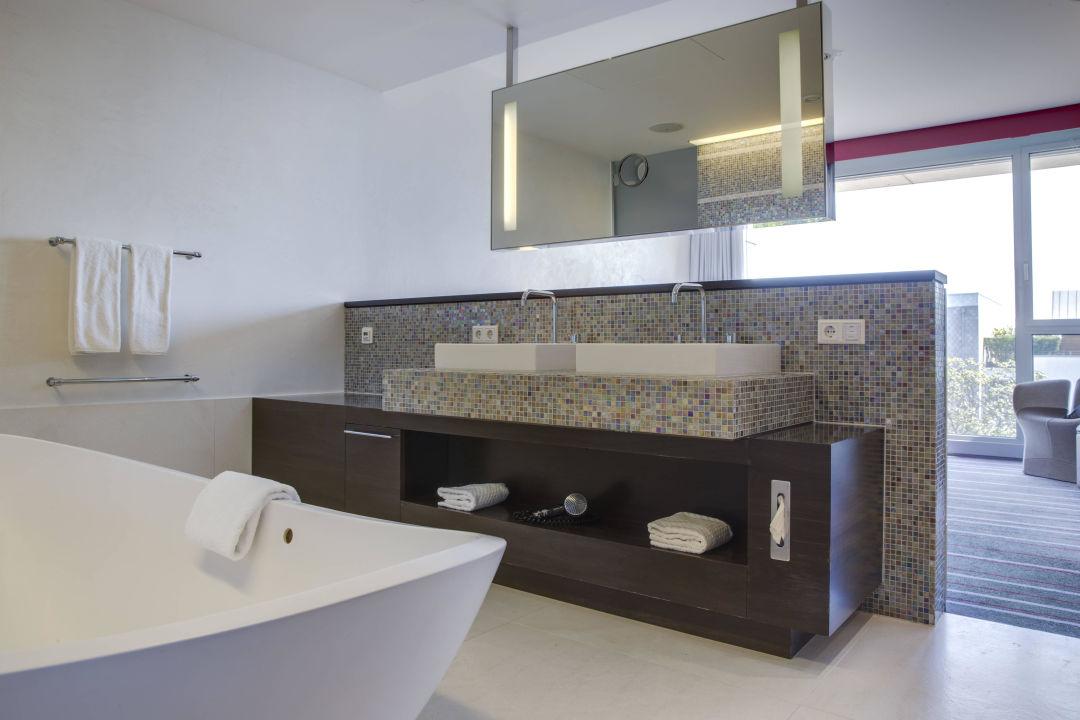 Suiten Badezimmer\