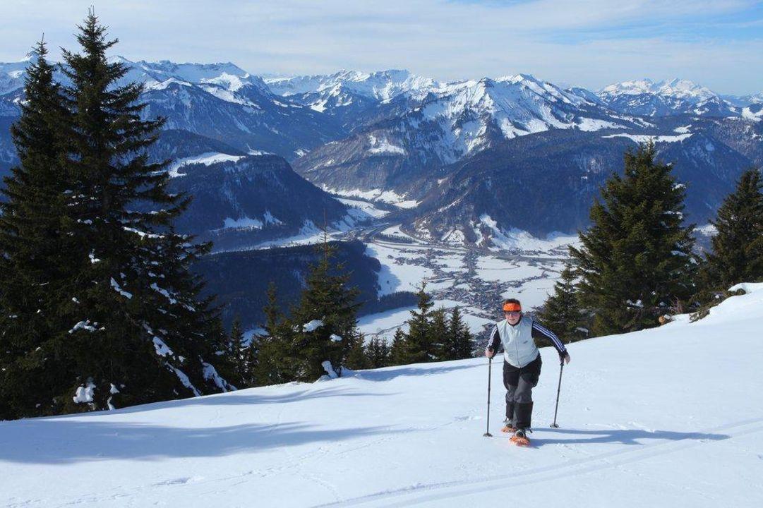 Winterwandern ein Genuß die Sonnigen Hotel und Restaurant