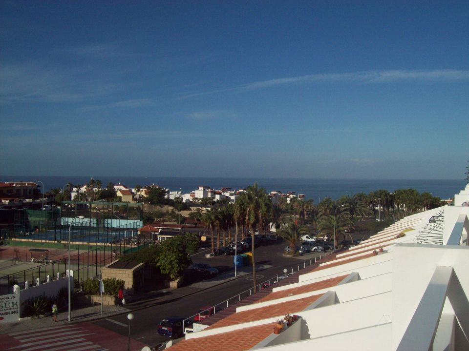 Blick zum Meer Aparthotel Malibu Park