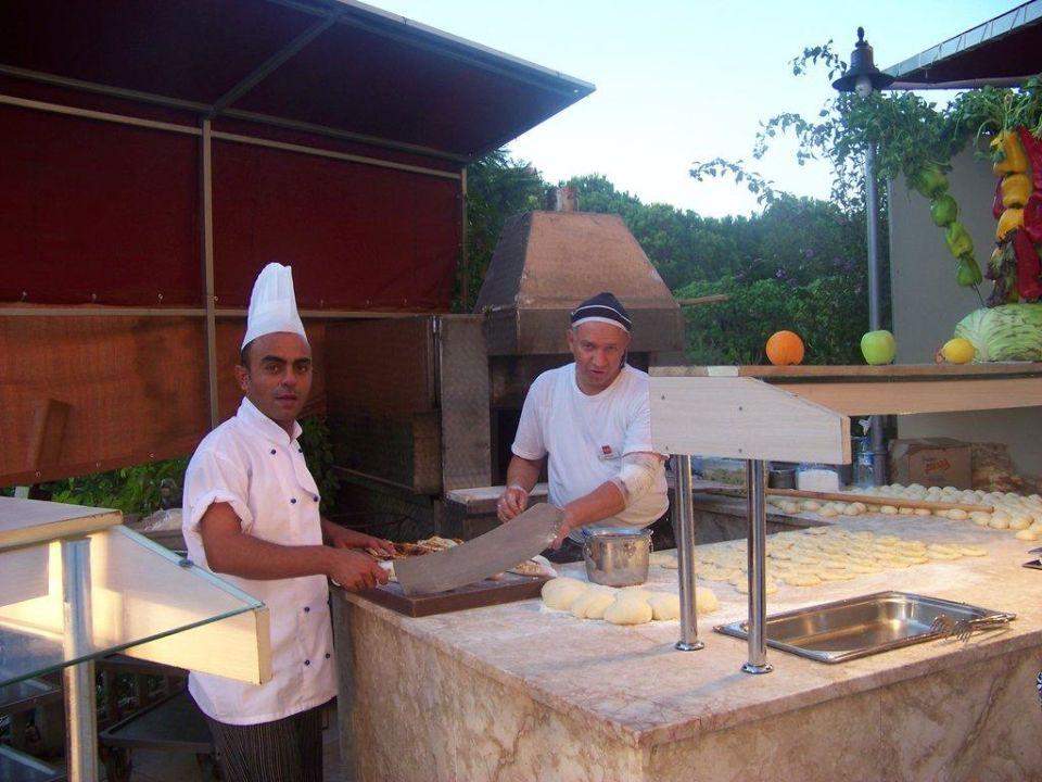 Außenküche Kaya Belek Hotel