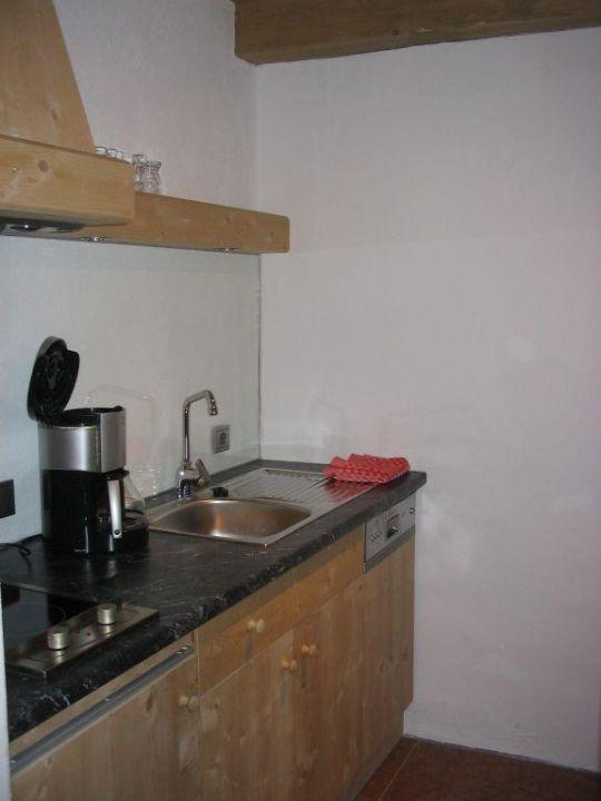 sehr kleine Küche\