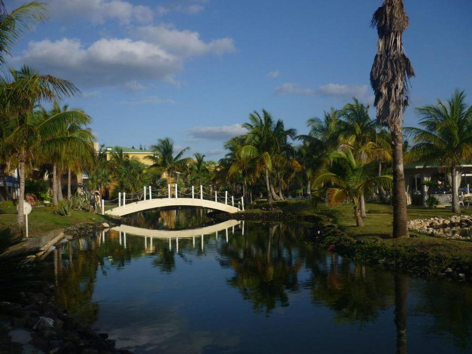 Teil der Lagune Melia Las Antillas - Adults only