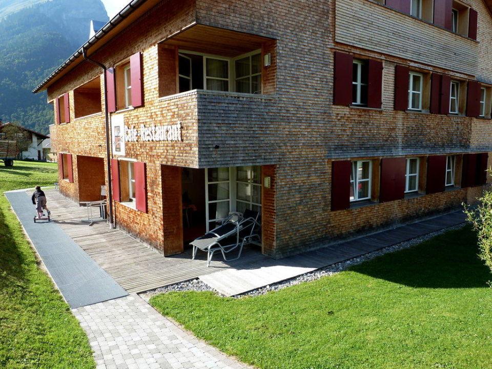Neubau Alpen Hotel Post Au Holidaycheck Vorarlberg Osterreich