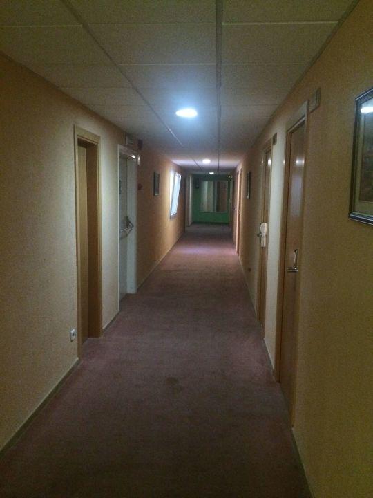 Der Flur im Hotel Hotel Santa Rosa