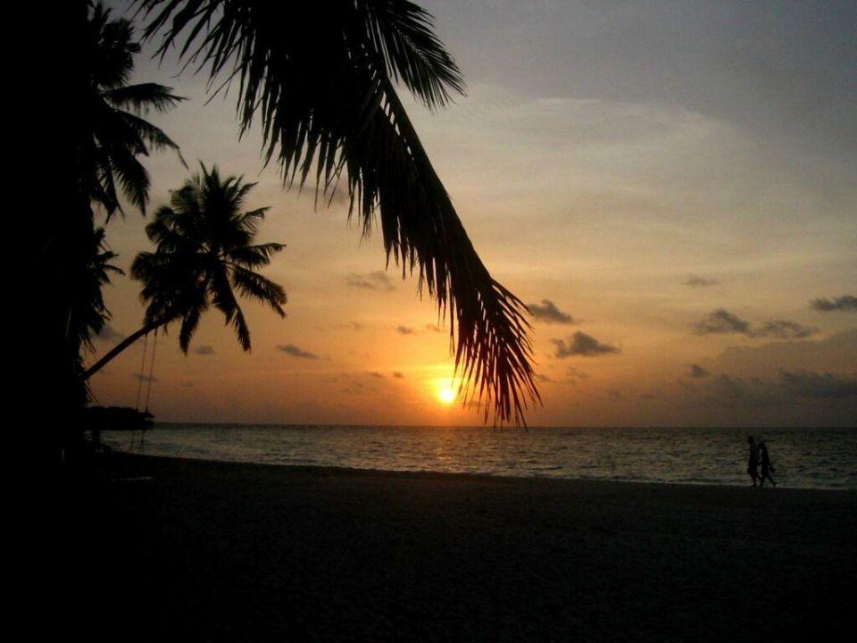 Sunset auf Fihalhohi Hotel Fihalhohi Island Resort