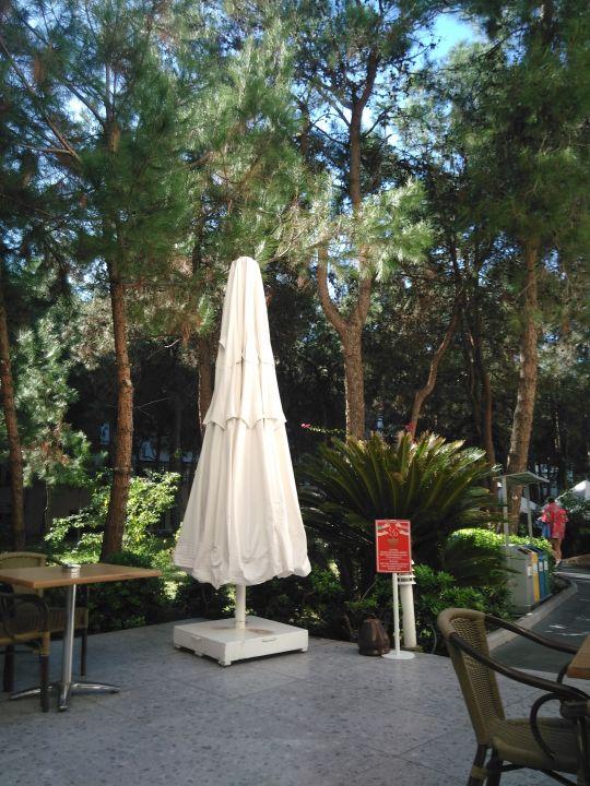 Gartenanlage Sueno Hotels Deluxe Belek