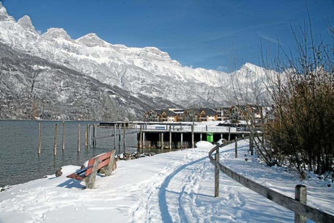 Winter im Resort Walensee Resort Walensee