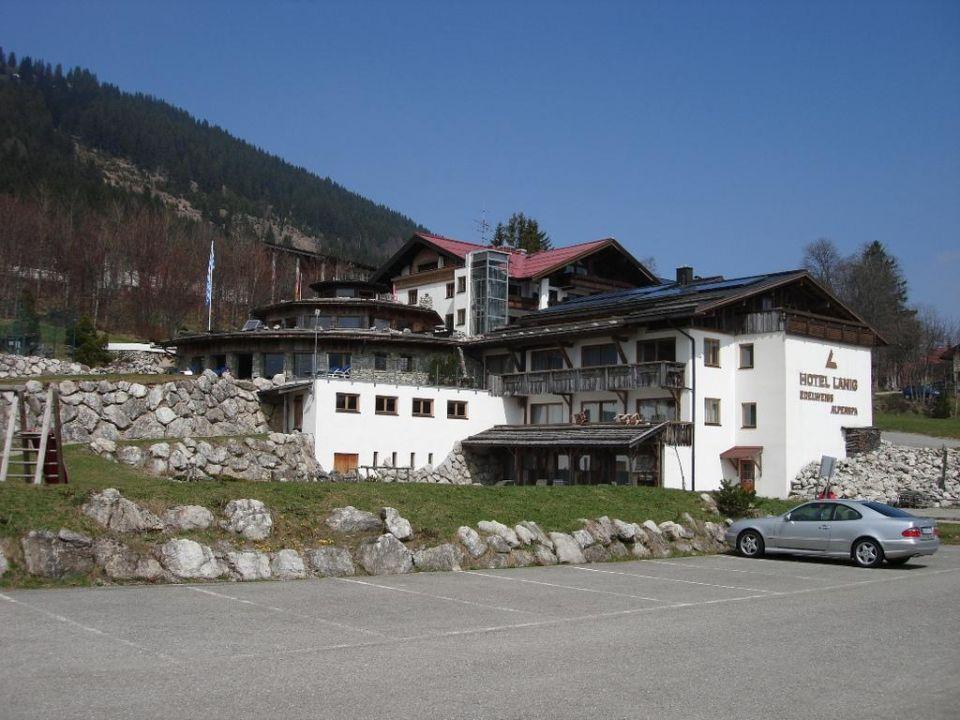 """""""Hotel von aussen"""" Hotel Lanig Resort & Spa (Bad Hindelang"""
