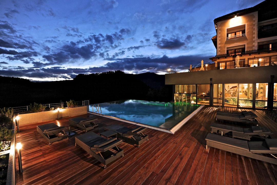 Infinity-Pool Hotel Alpenflora