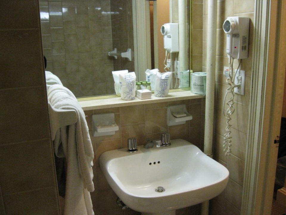 bild badezimmer ablage waschbecken zu hotel wellington in new york manhattan. Black Bedroom Furniture Sets. Home Design Ideas