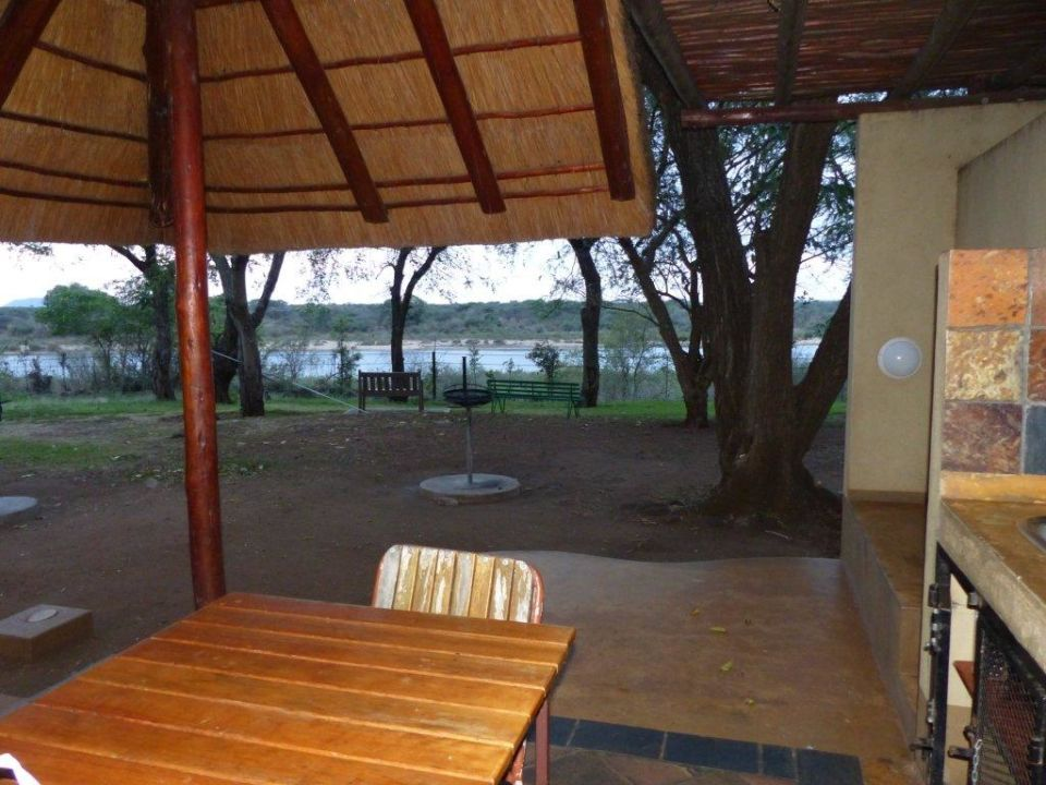 Terrasse Restcamp Lower Sabie