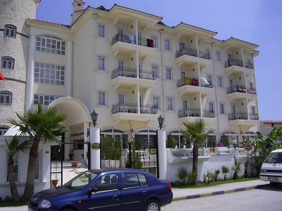 Hotel Sinatra von vorne Hotel Sinatra