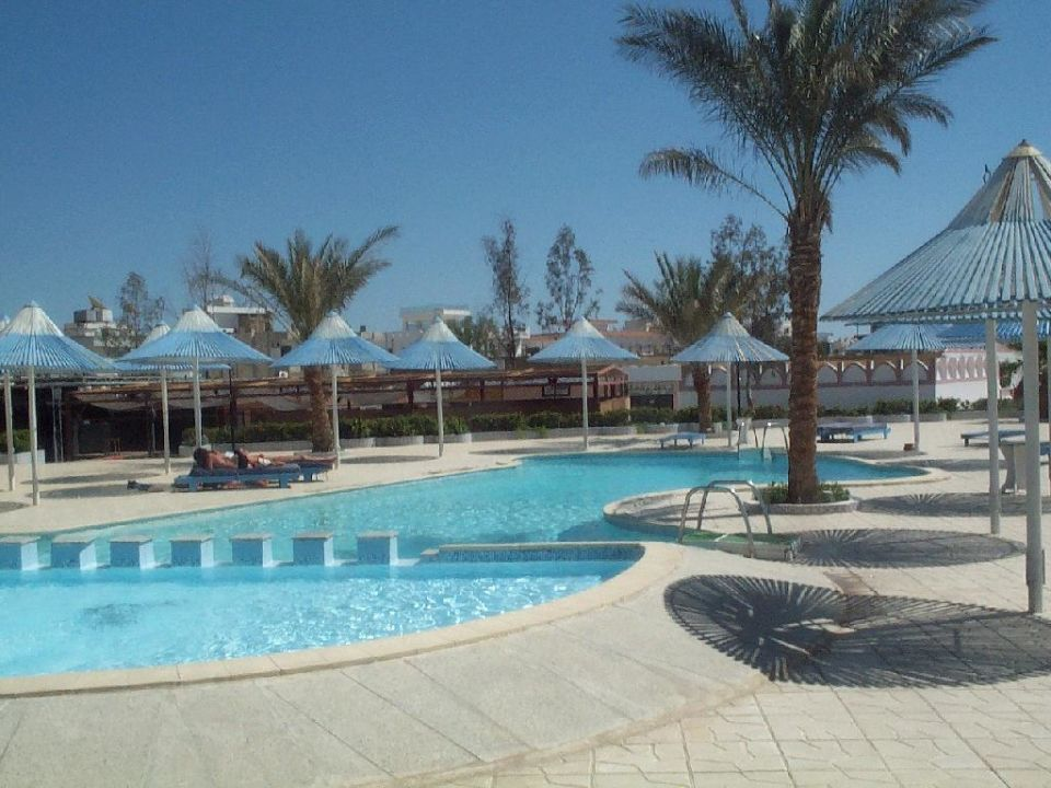 Pool Beach Albatros Resort Sharm El Sheikh (geschlossen)