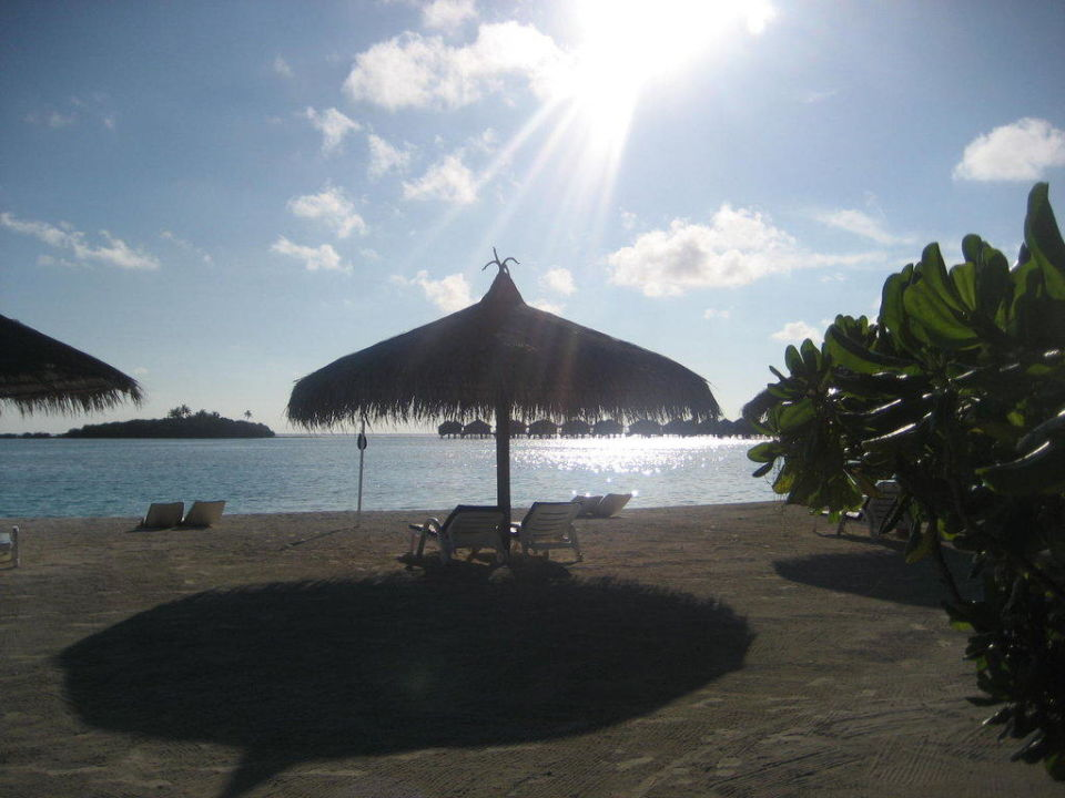 Strand vorm Bungalow Cinnamon Dhonveli Maldives