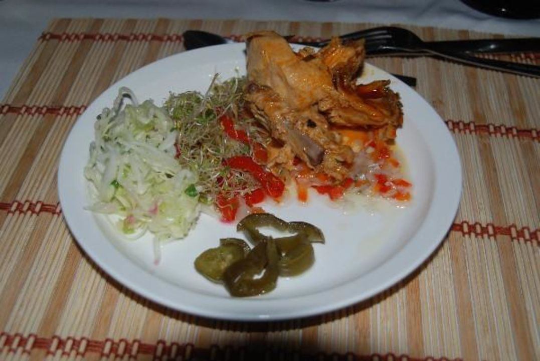 Abendessen vom Buffet Hotel & Club Punta Leona