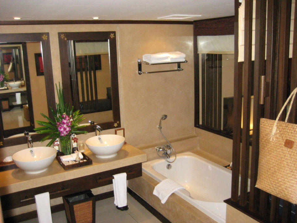 Bad / Deluxe-Zimmer Bo Phut Resort & Spa